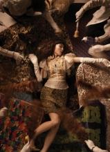 范瑋琪復古寫真曝光 慵懶造型變身貴婦