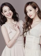 韩团f(x)时尚品牌写真 清新甜美淑女范