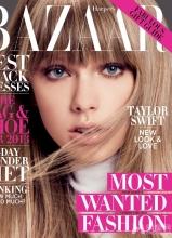 泰勒·斯威夫登时尚芭莎杂志封面