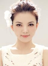 李湘全新唯美视觉大片 清新淡雅美少女