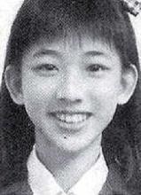 林志玲高中时期私房照曝光 长相清秀身材好