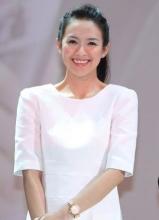 章子怡出席新片發布會-牽手黃曉明首演情侶