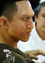 吳秀波鄧超四大名捕2恐怖造型化妝全過程
