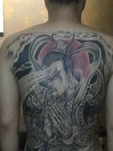 二郎神纹身 二郎神纹身图案大全 二郎神纹身手稿 二郎神纹身图片图片