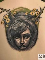盧卡斯的暗黑紋身藝術作品