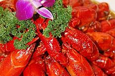 美味的盱眙龙虾图片