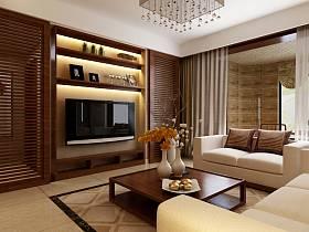 客廳電視墻設計圖