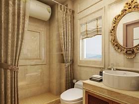 美式浴室淋浴房案例展示