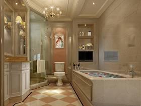 歐式浴室裝修圖