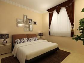 臥室窗簾設計圖