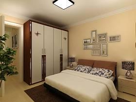 簡約臥室裝修案例