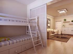 简约卧室吊顶图片