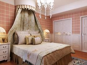 欧式卧室吊顶装修案例