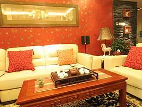 中式客廳圖片