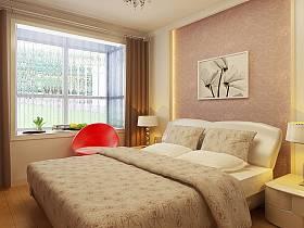 欧式卧室窗帘装修案例
