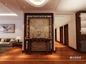 中式中式风格过道装修案例