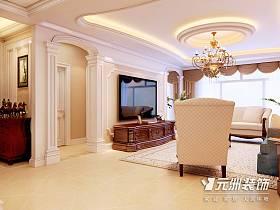 歐式歐式風格客廳圖片