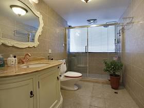 歐式浴室淋浴房圖片