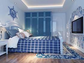 地中海卧室台灯装修案例