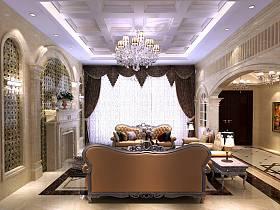 法式客厅别墅装修图