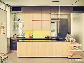 美式鄉村風格廚房設計圖