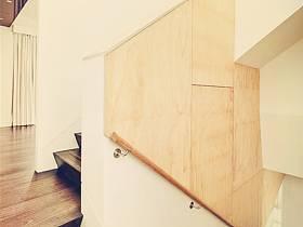 美式鄉村風格過道樓梯設計案例