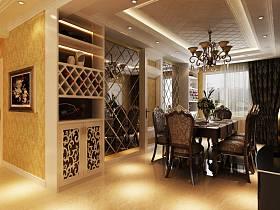 欧式餐厅吊顶设计方案