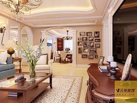 歐式歐式風格客廳設計方案