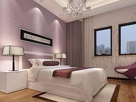 现代卧室吊顶图片