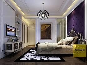 歐式歐式風格臥室吊頂設計案例