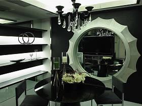 古典餐廳躍層吊頂設計案例