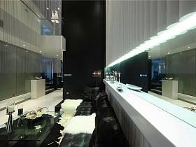 古典客廳躍層設計方案
