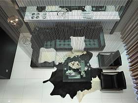 古典客廳躍層圖片