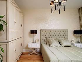 欧式卧室别墅吊顶衣柜图片