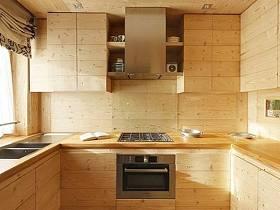 鄉村風格廚房裝修效果展示