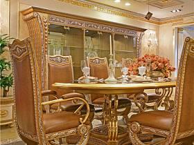 歐式餐廳吊頂酒柜設計案例展示