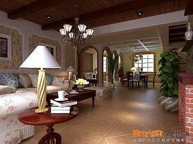鄉村風格客廳設計方案