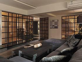 現代簡約客廳設計案例