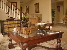 客廳大廳茶幾擺件設計案例
