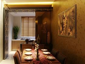 東南亞餐廳吊頂設計案例展示