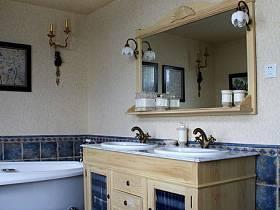 美式卫生间设计案例展示
