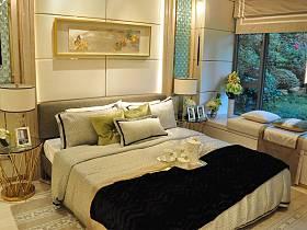 混搭现代混搭风格卧室装修效果展示