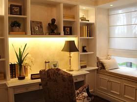 欧式简欧简欧风格书房设计方案