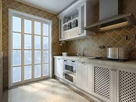 田園廚房躍層裝修案例