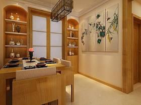中式中式風格餐廳裝修效果展示