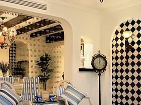 地中海客厅茶几设计方案