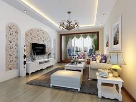 歐式現代客廳裝修圖