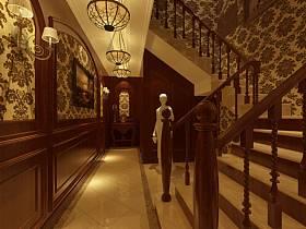 欧式欧式风格过道楼梯装修案例
