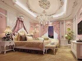 法式卧室吊顶装修图