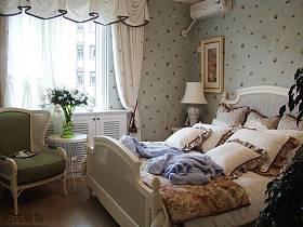 田园韩式卧室图片